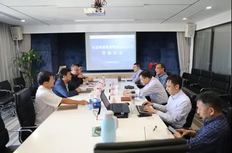 海垦商贸物流集团副总裁唐盛一行到访棉交中心调研交流